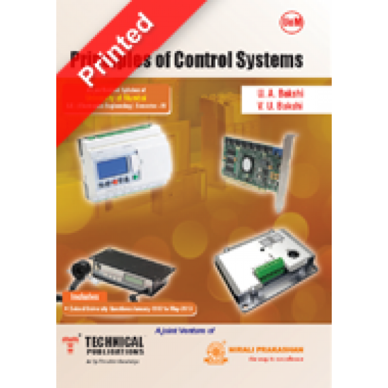 Principles Of Control Systems Technical Publications