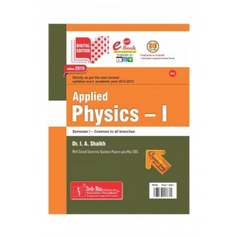 Applied Physics I by Techmax