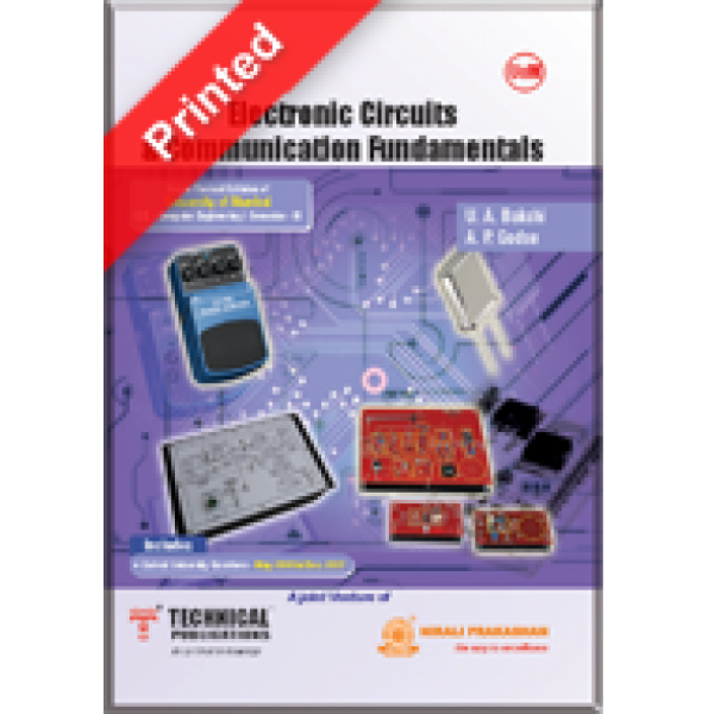 Electronic Circuits And Communication Fundamentals by  Technical Publications
